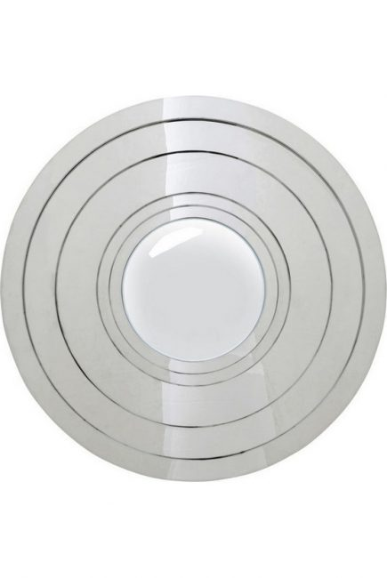81878-kare klub-ogledalo steel step silver