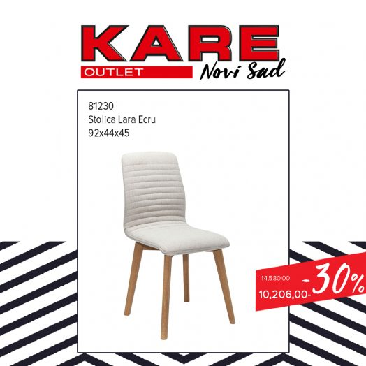 KARE Novi SAd Outlet - stolica Lara