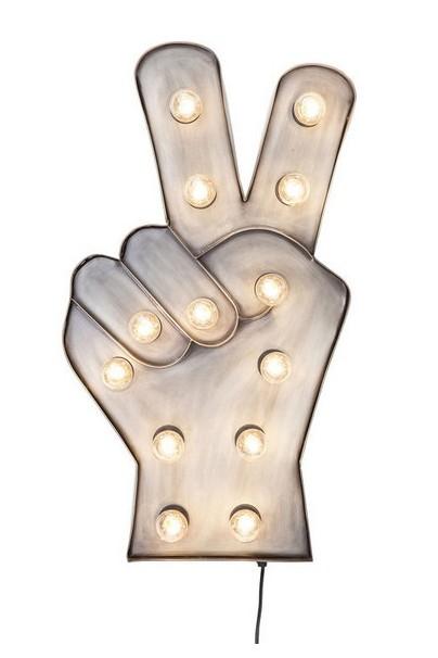 KARE-36673-zidna lampa peace