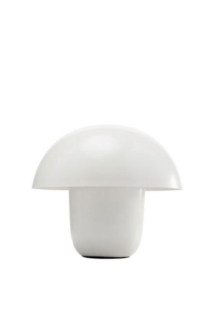 61799 stona lampa Mushroom mala bela