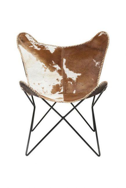 KARE-76715-Fotelja Butterfly fur