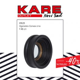 KARE Novi SAd Outlet - ogledalo Convex 48