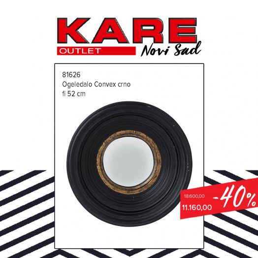 KARE Novi SAd Outlet - ogledalo Convex 52