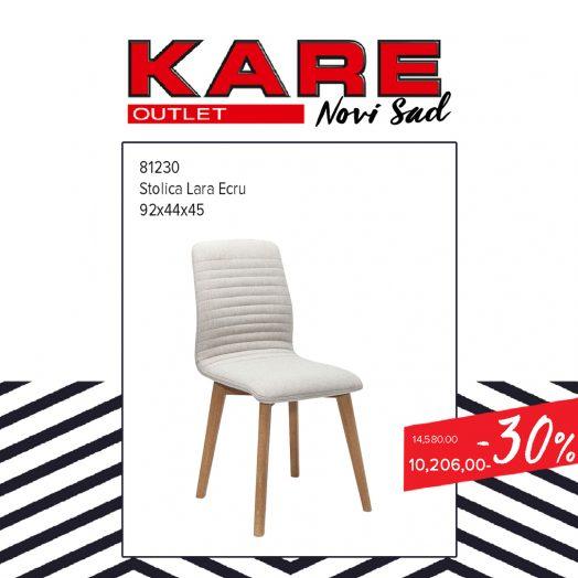 KARE Novi SAd Outlet - stolica Lara