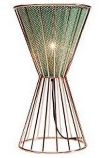 39830 KARE Stona Lampa Hourglass