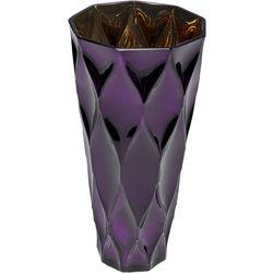 51639 Vaza Rhomb ljubičasta 30cm